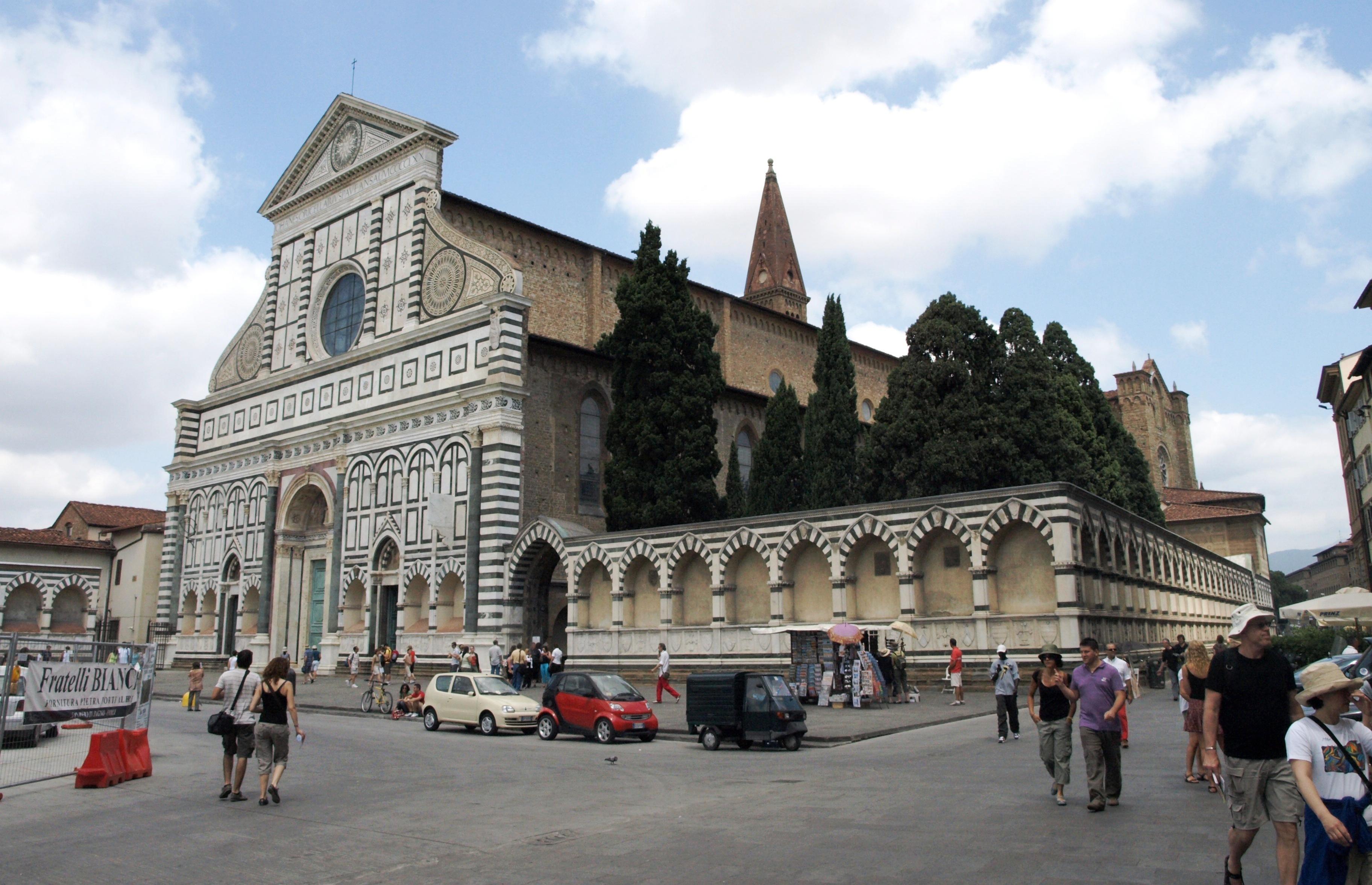 Itálie, Florencie - Santa Maria Novella, 1279-1357, dominikáni