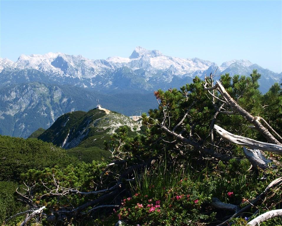 národní parky a zahrady - Slovinsko - Julské Alpy - nejvyšší hora Slovinska Triglav