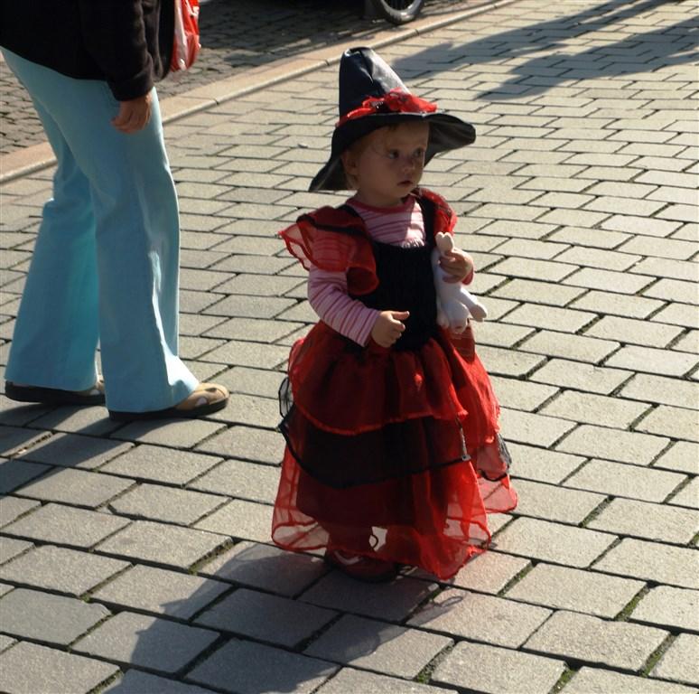 zajímavosti - Německo - Harz - Weinigerode, malá čarodějka