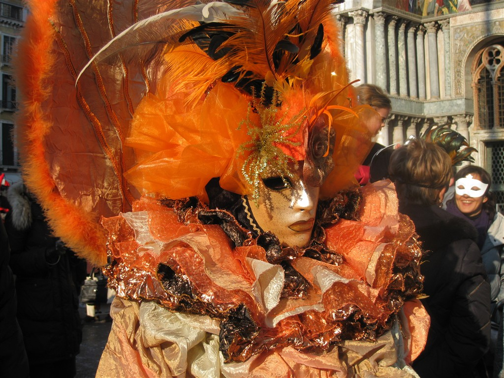 evropské slavnosti - Itálie - Benátky - festival plný masek a exotiky