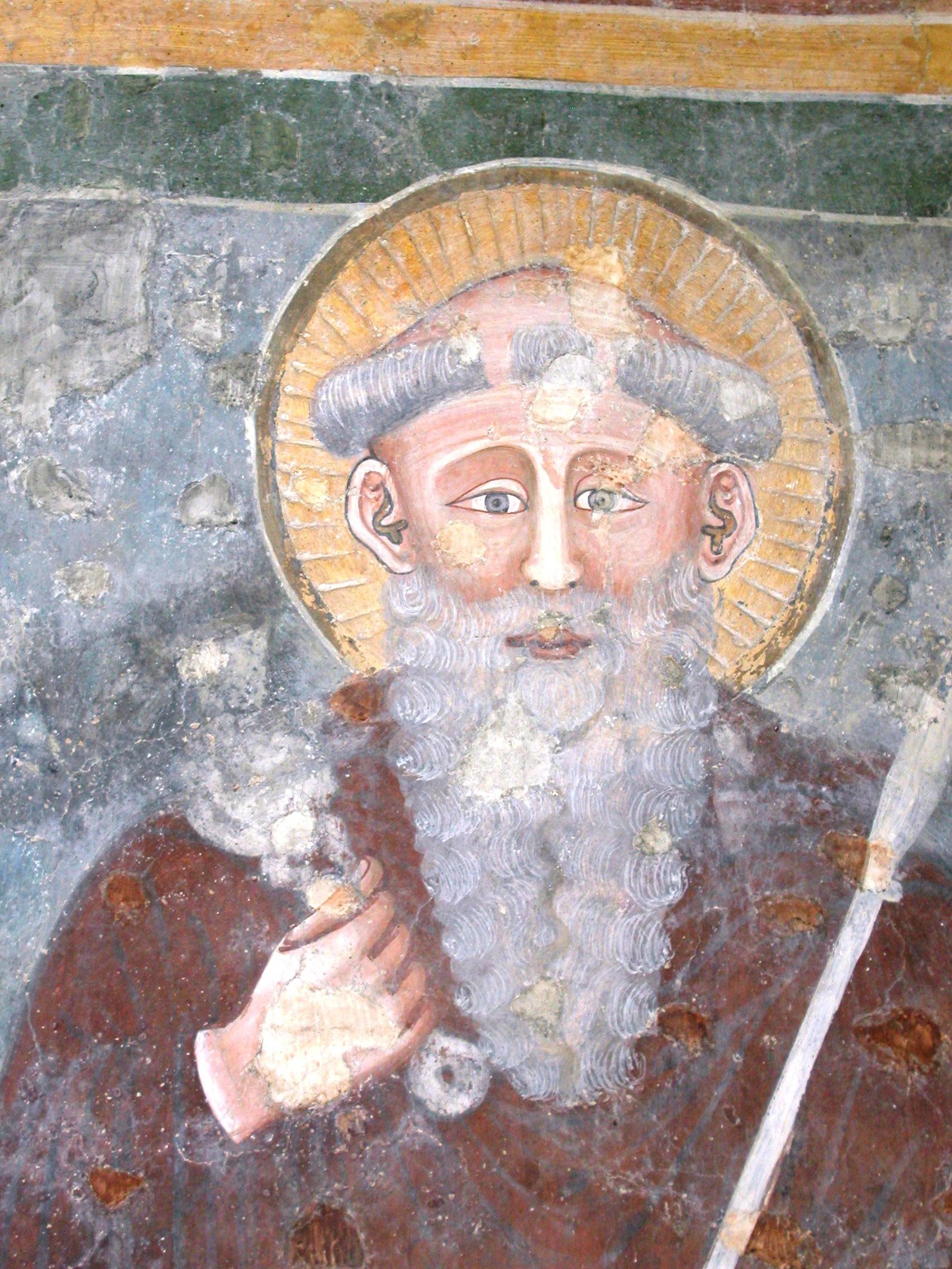 Itálie - Sirmione - San Pietro in Mavino, fresky z 12.-16.stol