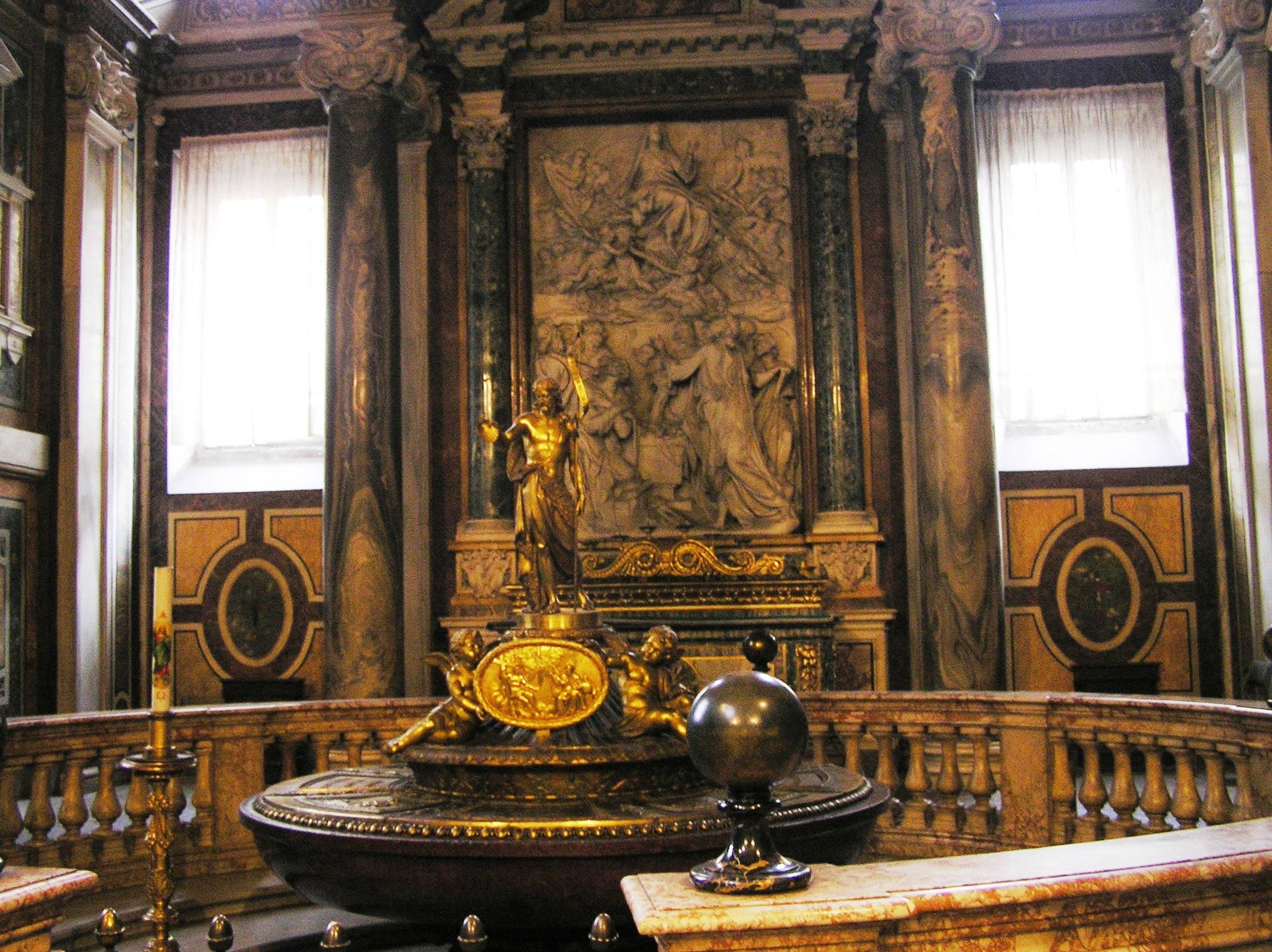 Itálie - Řím - Santa Maria Maggiore, baptisterium