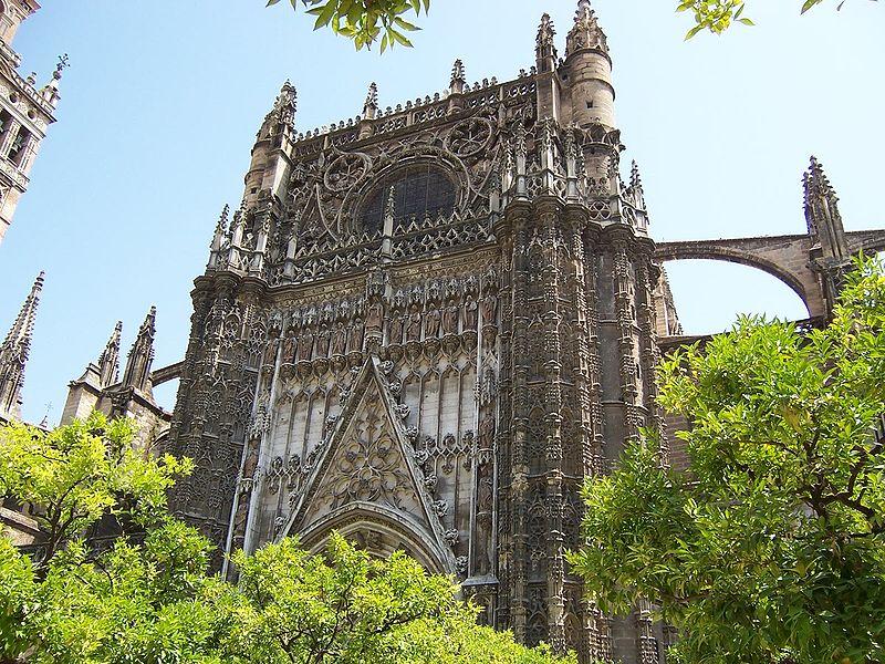 Španělsko - Sevilla - katedrála, 1401-1519