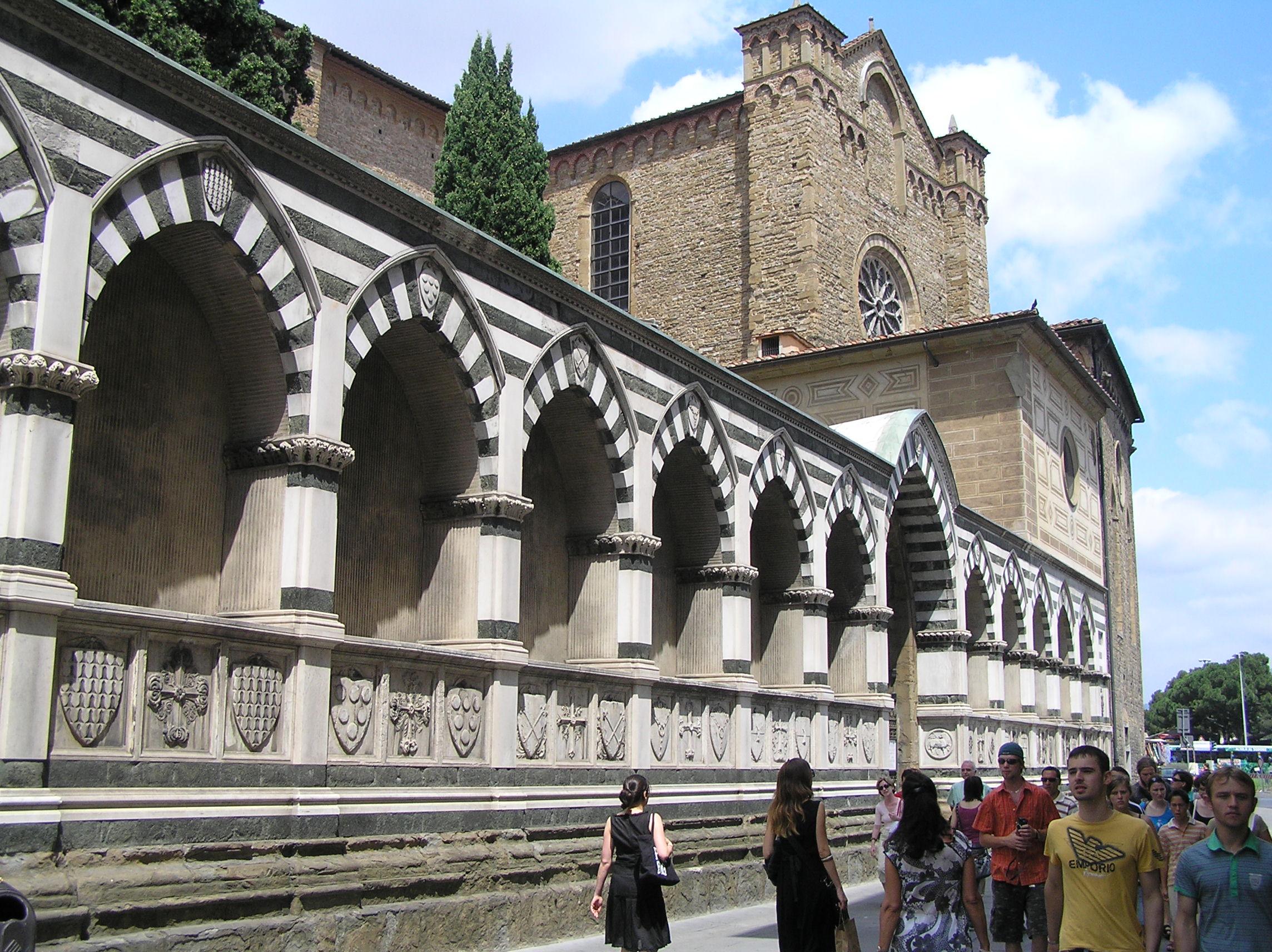 Itálie - Florencie - Santa Maria Novella, 1279-1357