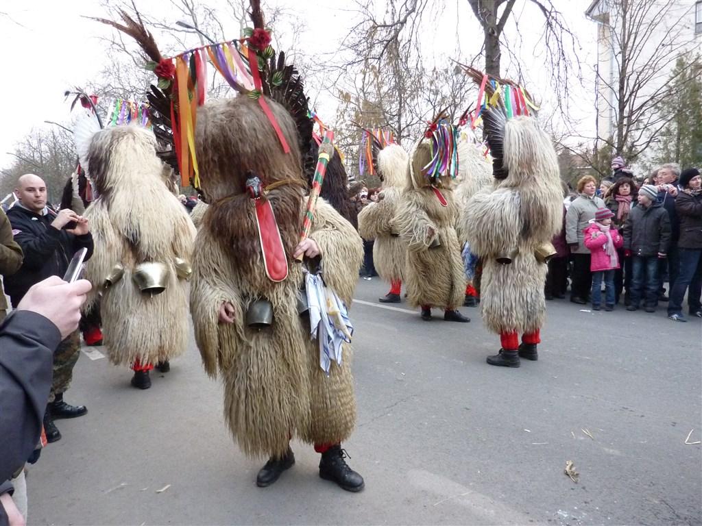 evropské slavnosti - Maďarsko -  Moháč, slavnosti Busójárás