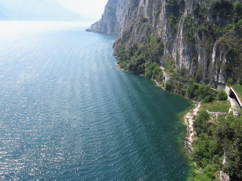 Itálie - Lago di Garda, největší italské jezero ledovcového původu