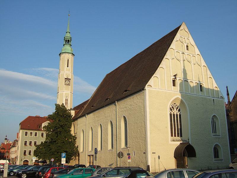 Německo - Zhořelec - Dreifaltigkeitskirche
