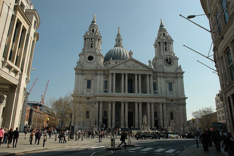 Velká Británie - Anglie - Londýn - katedrála sv.Pavla
