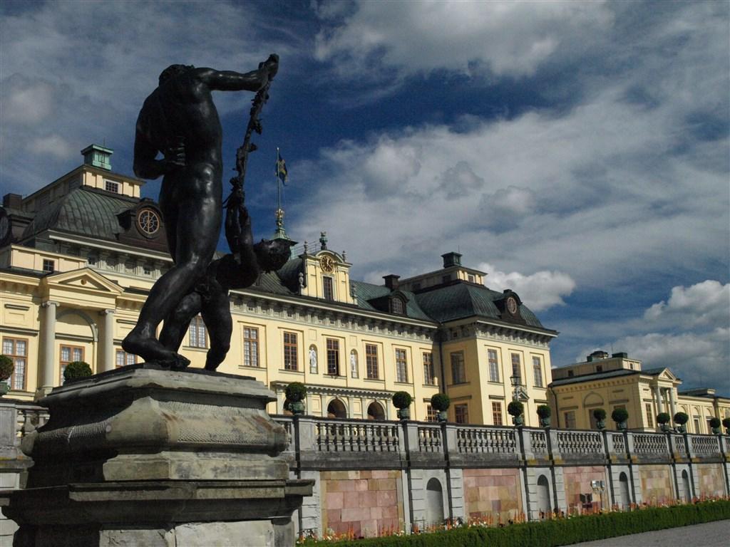 zajímavosti - Švédsko - Drottningholm, královský palác u Stoskholmu