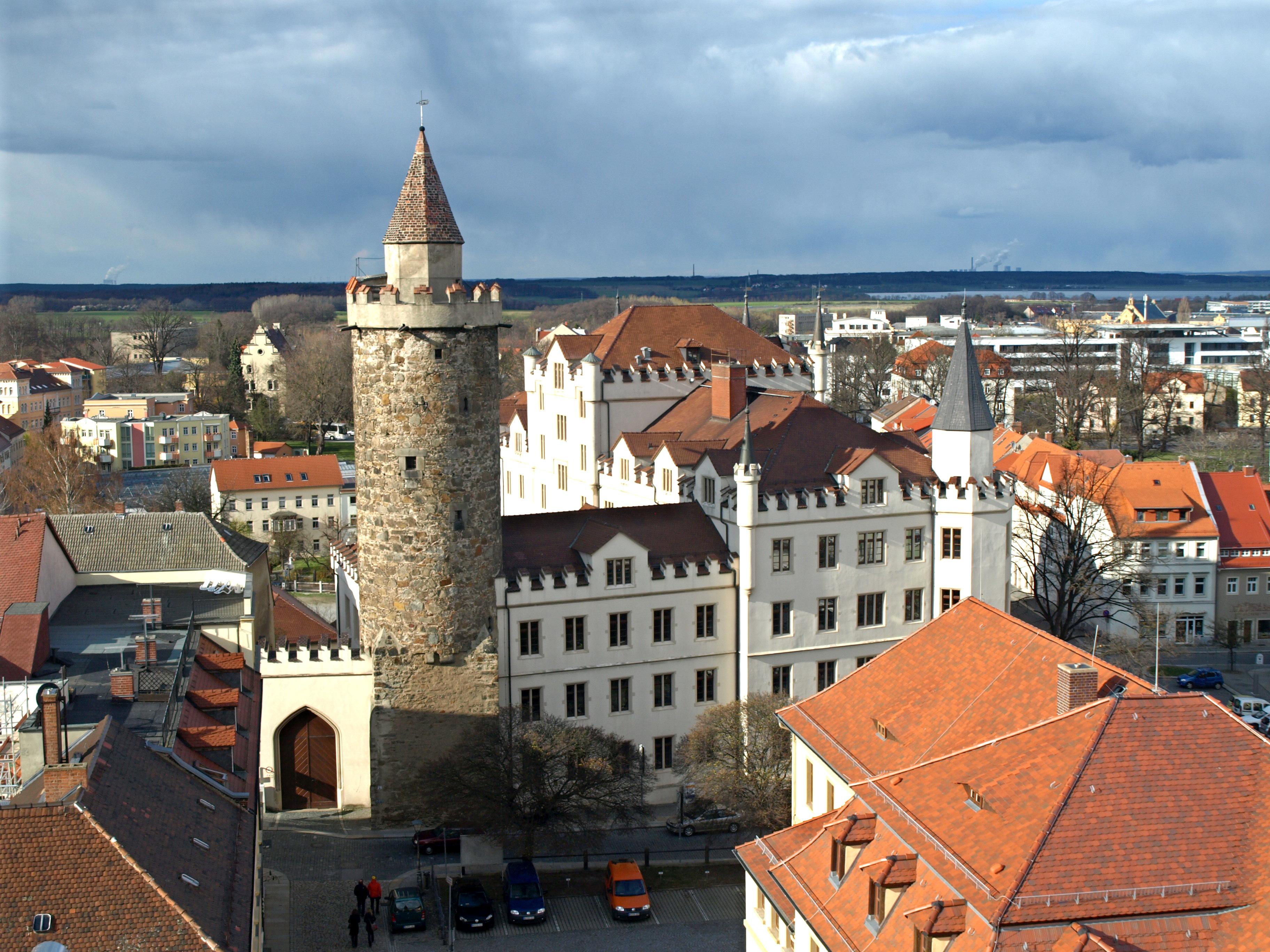 Německo - Lužice - Budyšín, Serbska wěža