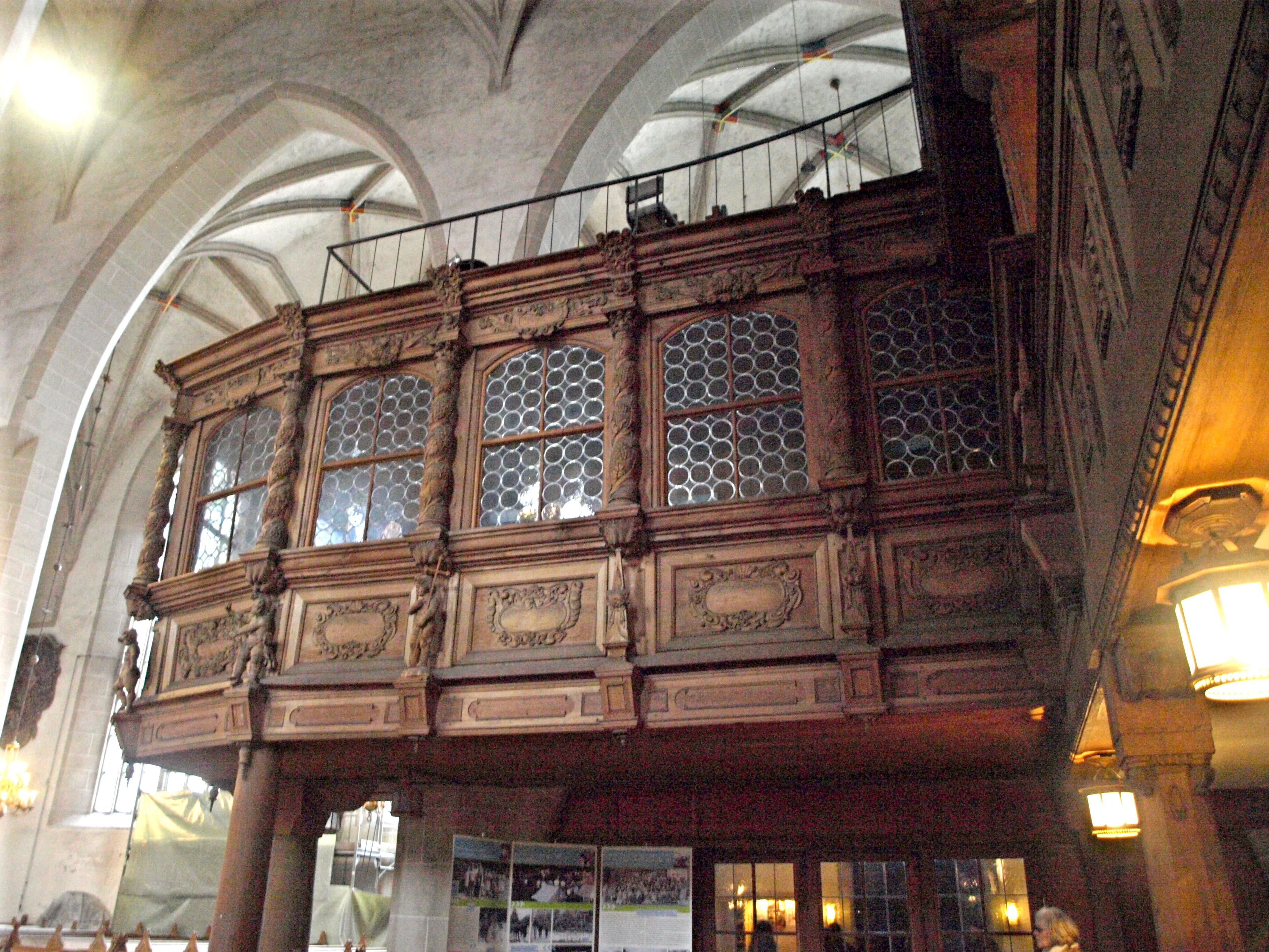 Německo - Lužice - Budyšín, St.Petri, interiér