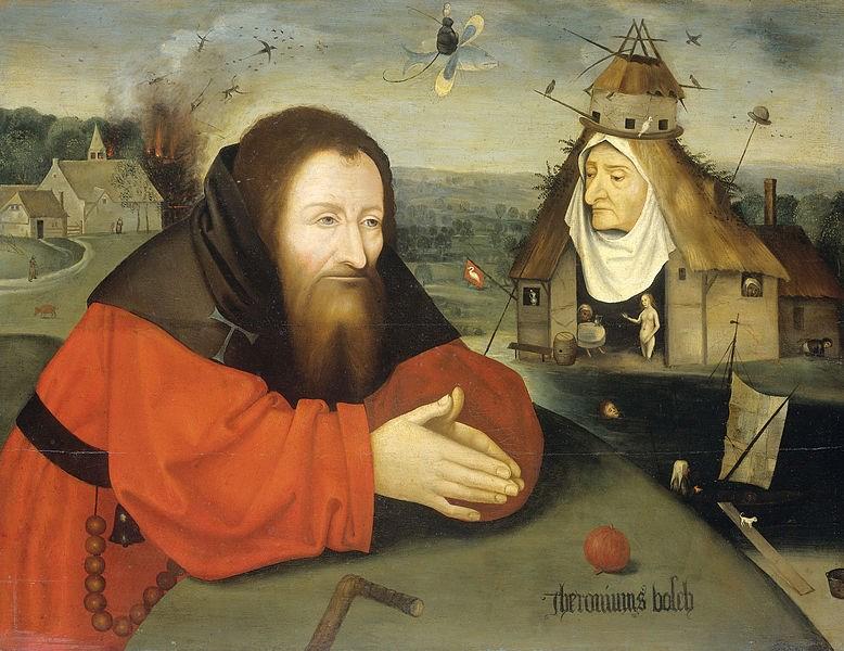 zájezdza uměním výstavy a architektura - Holandsko - Amsterdam - Rijksmuzeum, Pokušení svatého Antonína, H.Bosch, mezi 1550 až 1600