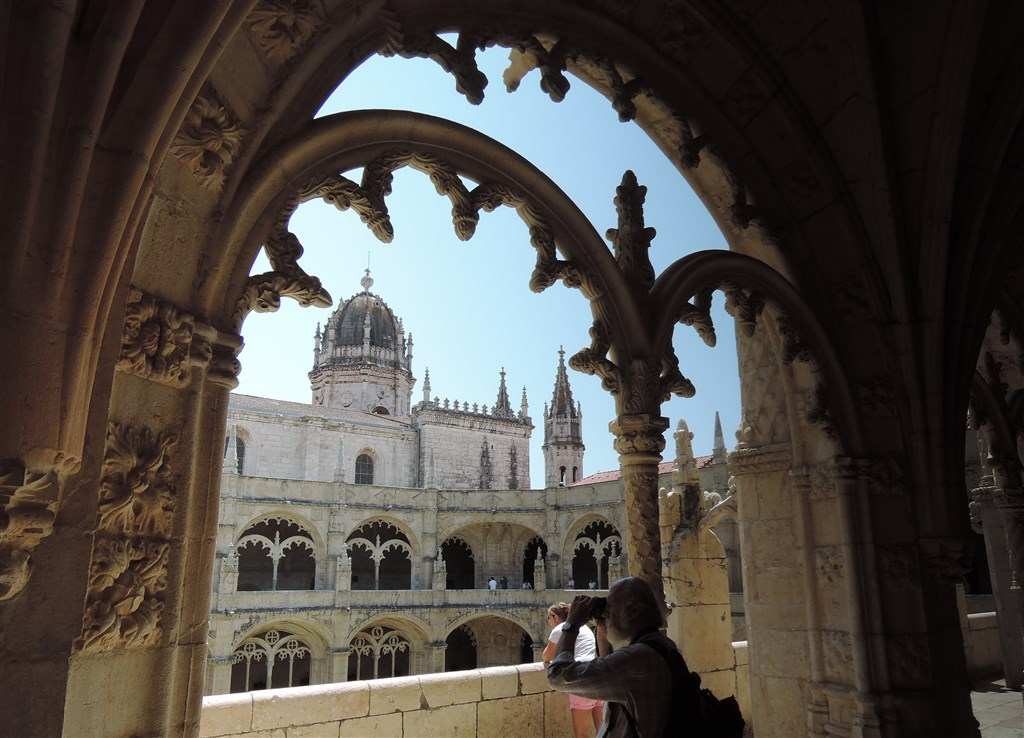 zajímavosti - Portugalsko - Lisabon - Mosteiro dos Jerónimos, vrcholná manuelská gotika