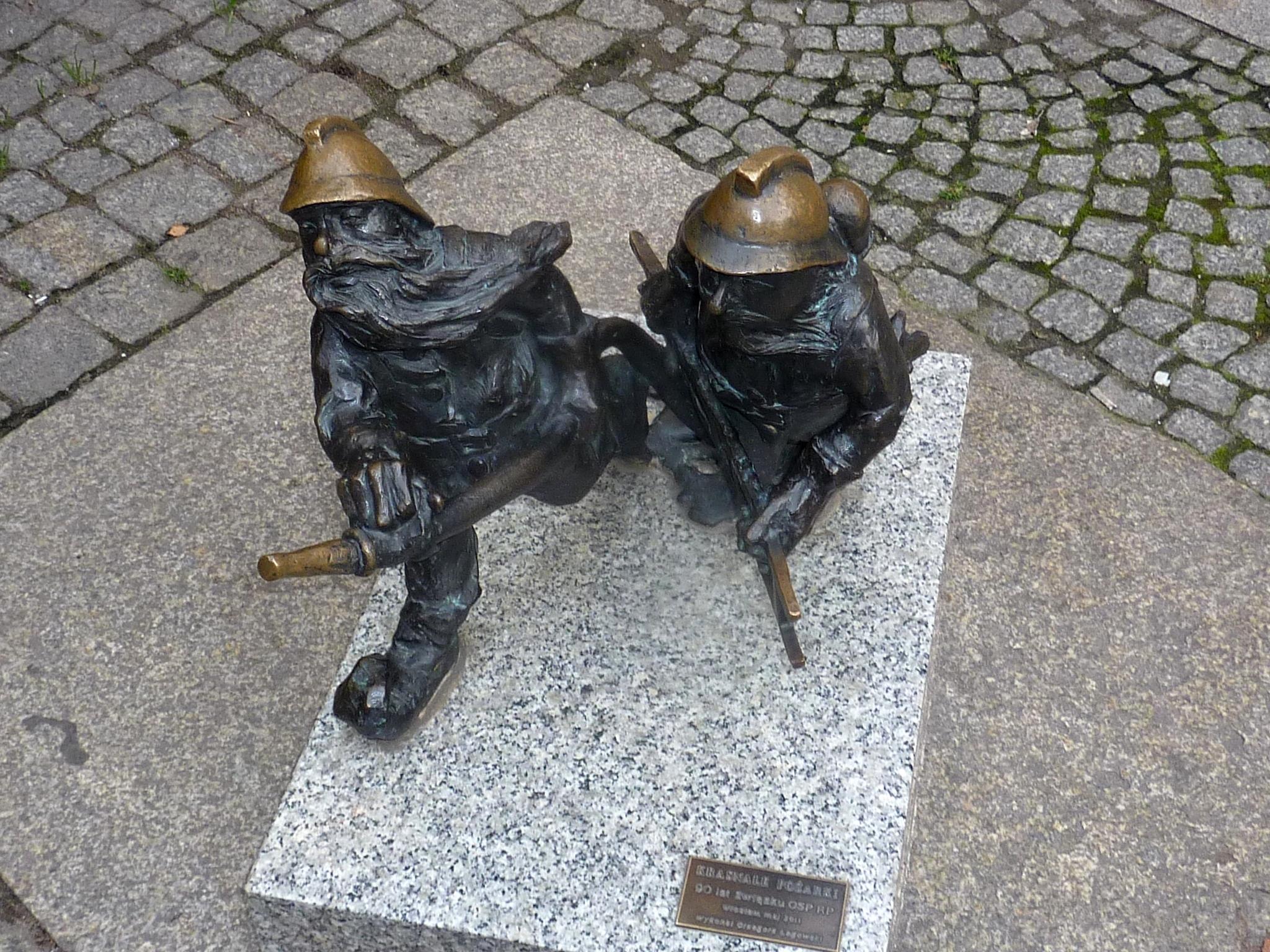 Polsko - Vratislav, skřítci - hasiči (Požarki), Grzegorz Łagowski