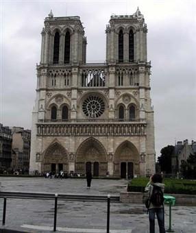 Eurovíkendy - francie - paříž - katedrála notre dame, 1163-1330