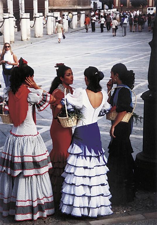 evropské slavnosti - Španělsko - Andalusie - zastavení na kus řeči