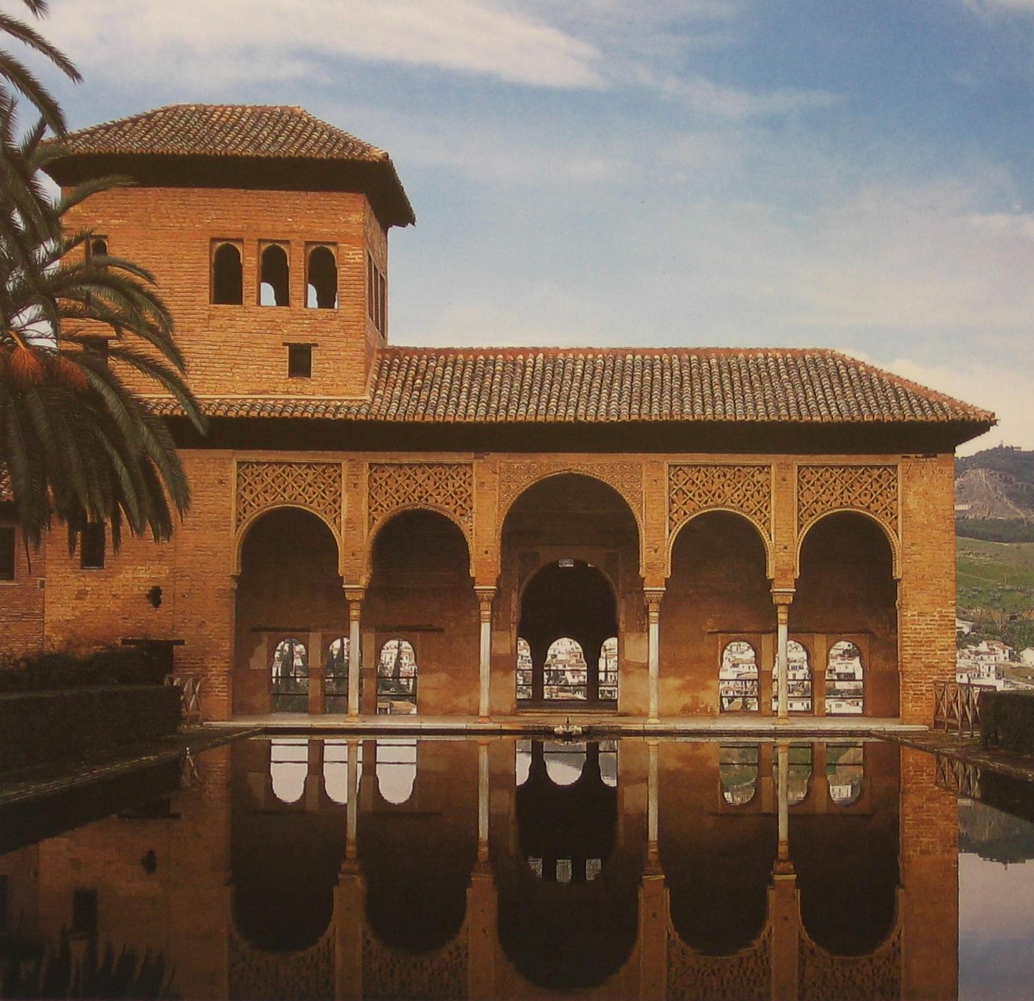 Španělsko - Andalusie - Granada, Portikový palác