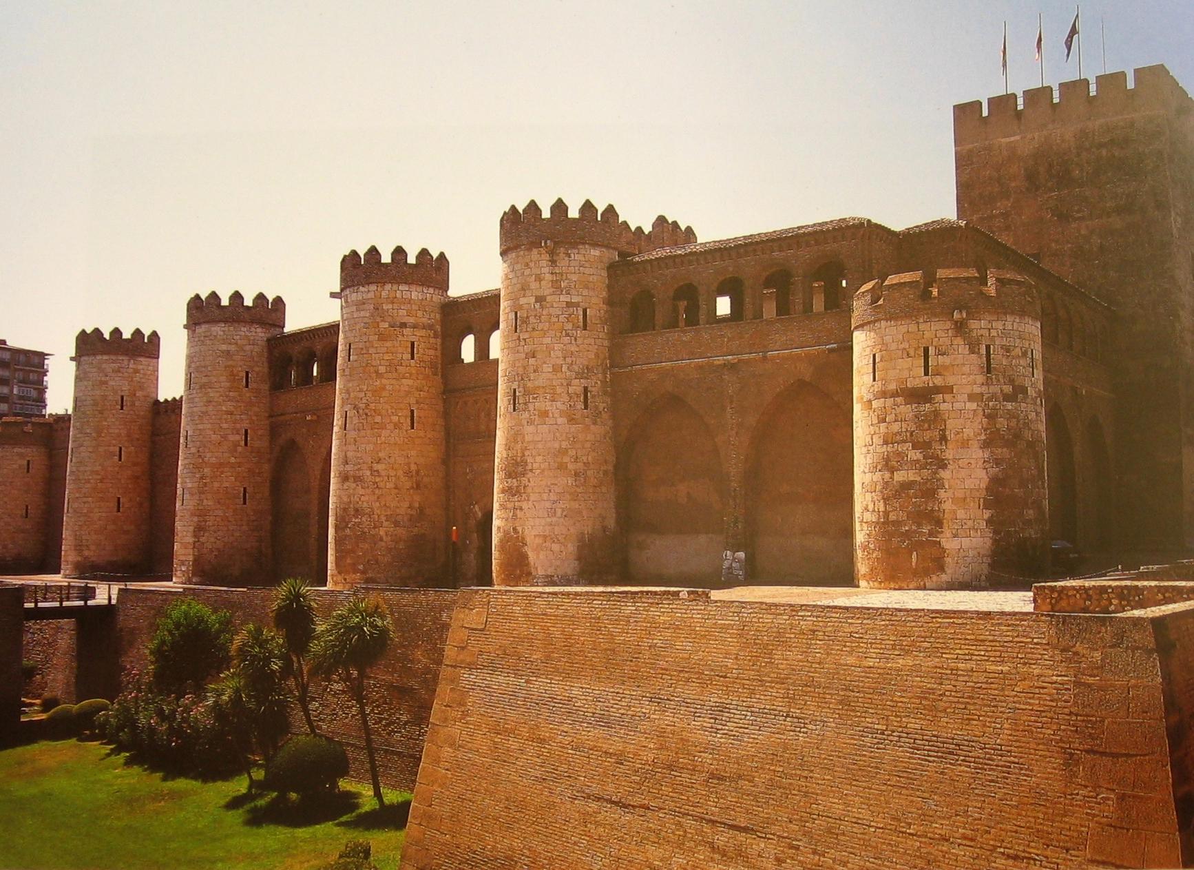 Španělsko, Zaragoza, Aljaferíja
