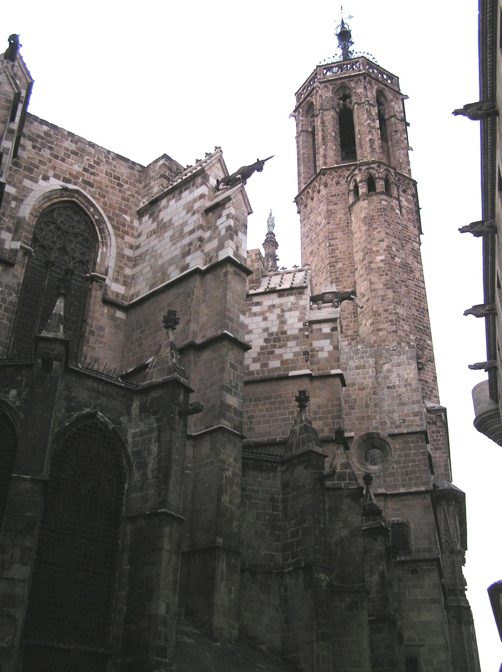 Španělsko, Barcelona, katedrála sv. Eulalie a sv. Kříže