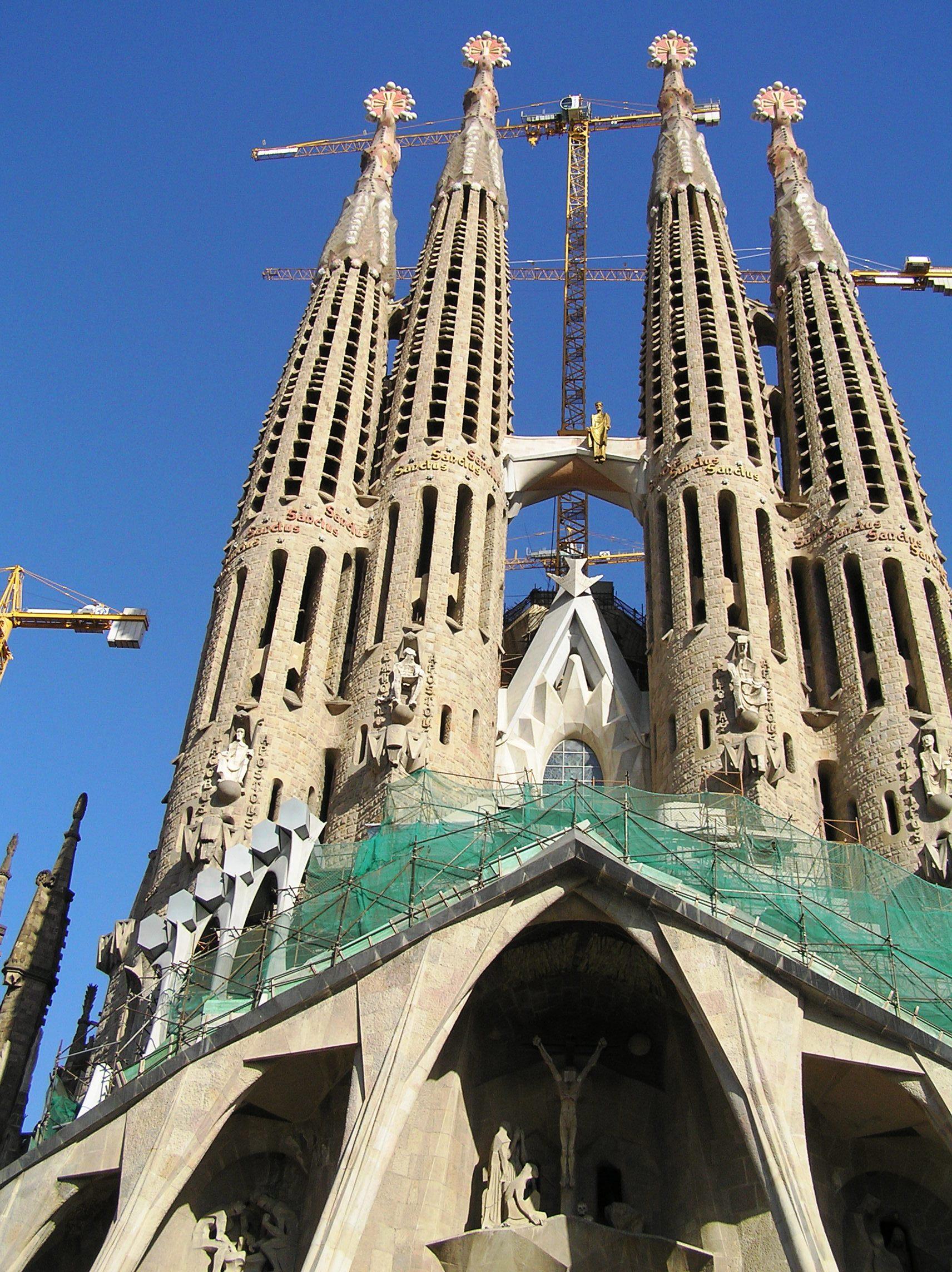 Španělsko, Barcelona, Sagrada Familia