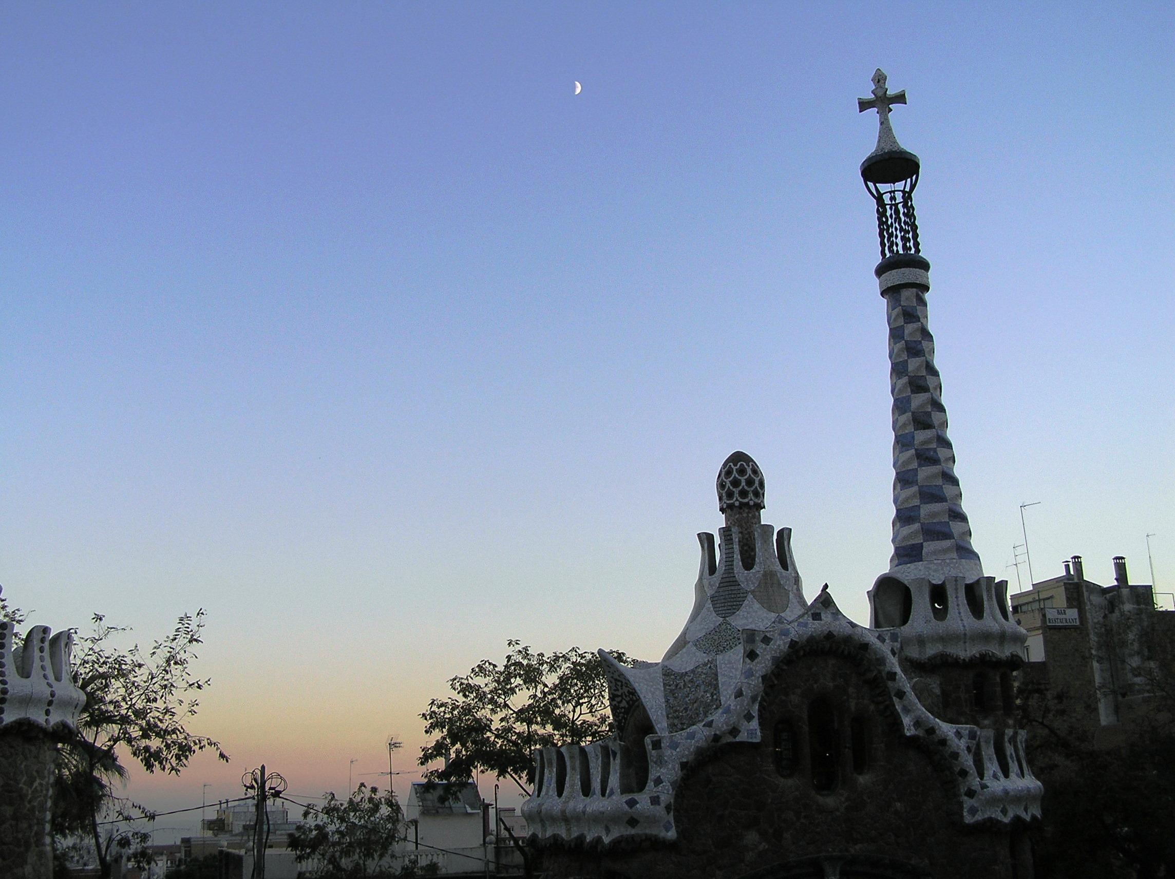 Španělsko, Barcelona, park Guell