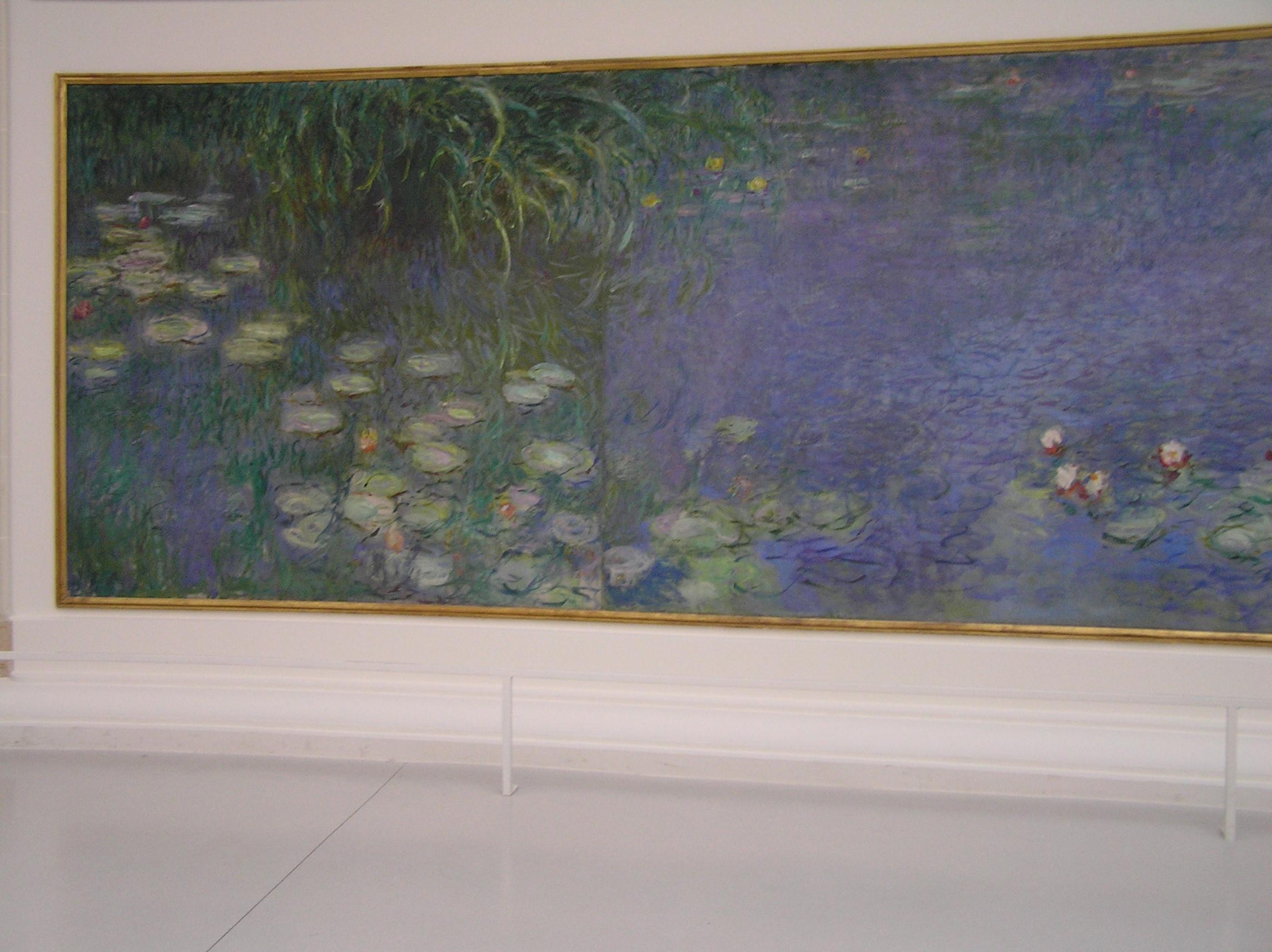Francie - Paříž - Monetovy Lekníny v Musée de l´Orangerie