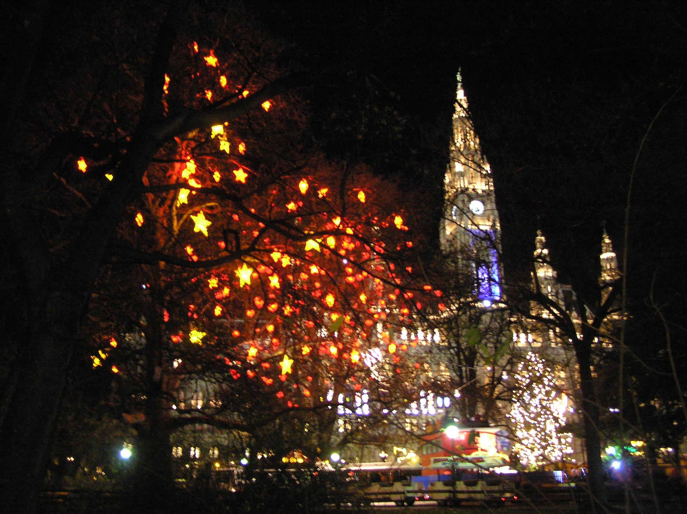 Rakousko, Vídeň, advent