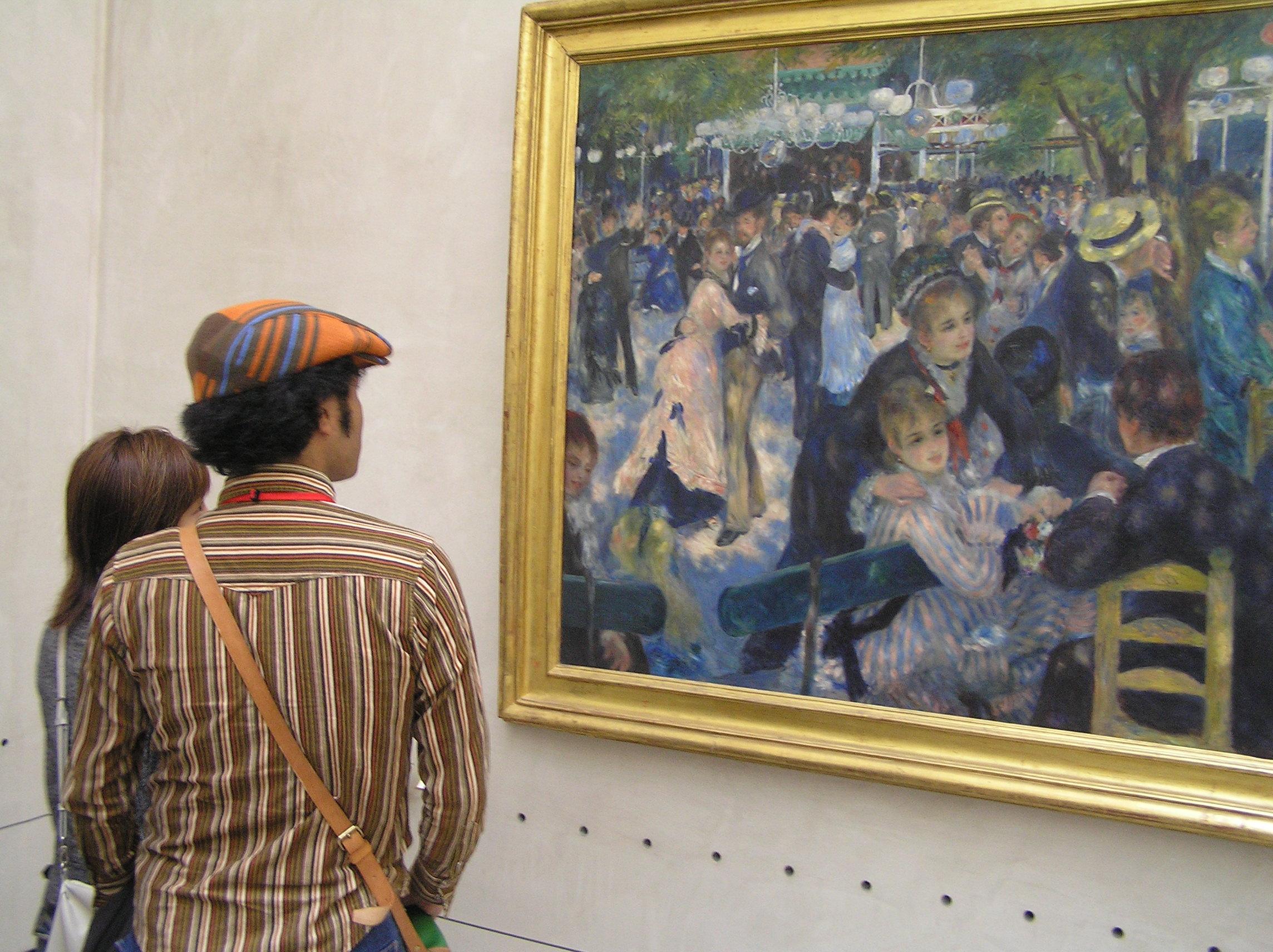 Francie, Paříž, Musée d´Orsay, A. Renoir