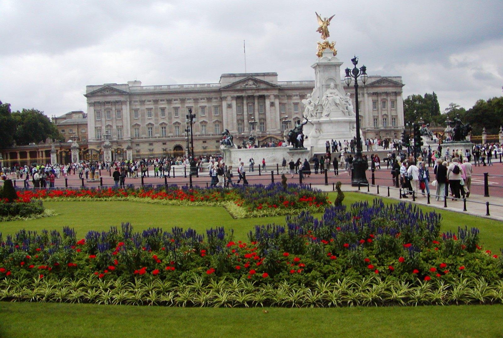 Velká Británie - Anglie - Londýn, Buckinghamský palác