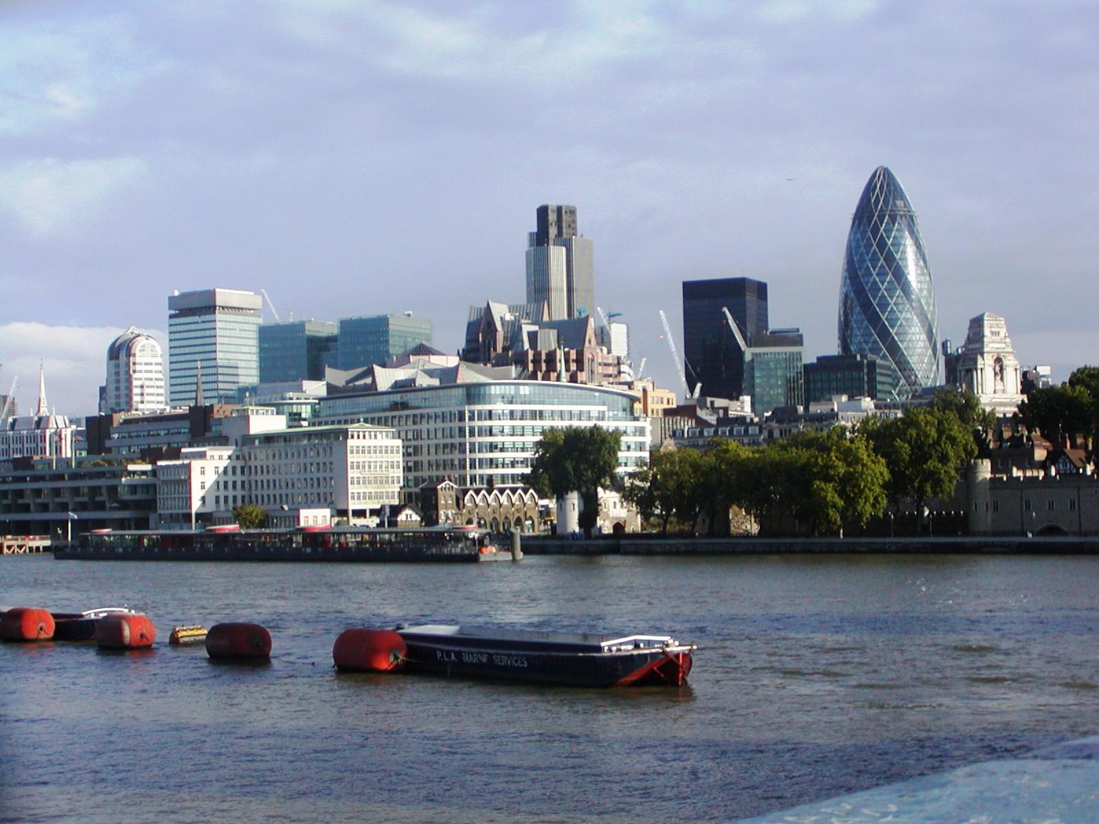 Velká Británie - Anglie - Londýn není jen klasika, ale i moderní stavby nad Temží