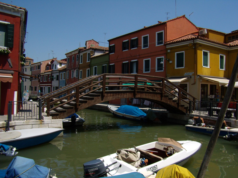 Itálie - Benátky - ostrov Burano