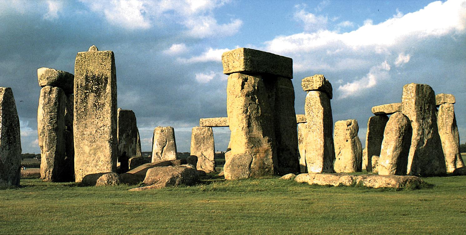 Anglie - Stonehenge - památka UNESCO z let 1900 až 1600 př.n.l