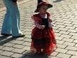 evropské slavnosti - Německo - Harz - Weinigerode, malá čarodějka
