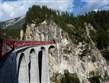 zajímavosti - Švýcarsko - Rhétská železnice, cesta vlakem je tu vždycky zážitek