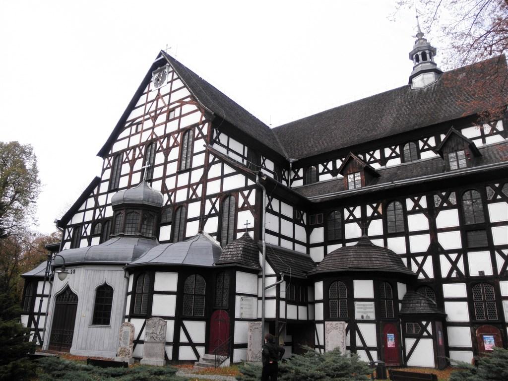 zajímavosti - Polsko - Swidnica, kostel Nejsvětější Trojice, 23.8.1656- 24.6.1657