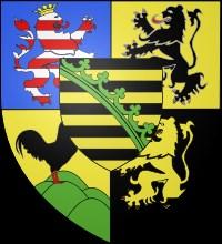 zajímavosti - Německo - erb rodu Sasko-koburgského